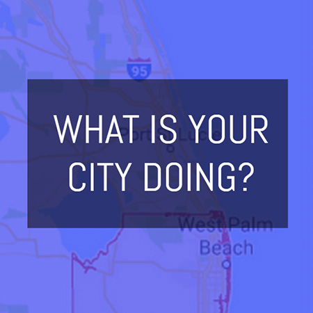 What is Your City Doing?